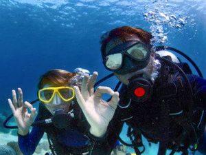 Prueba de buceo First diving - Test de plongée