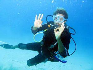 Tu primer buceo - Test de buceo Try dive