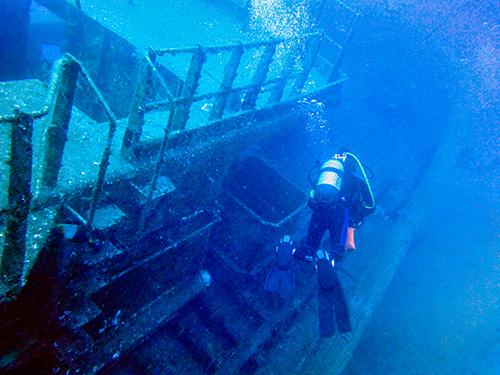 Plongée dans les épave Wreck Diver Buceo en barcos hundidos
