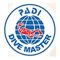 logo divemaster Estepona Costa del Sol PADI