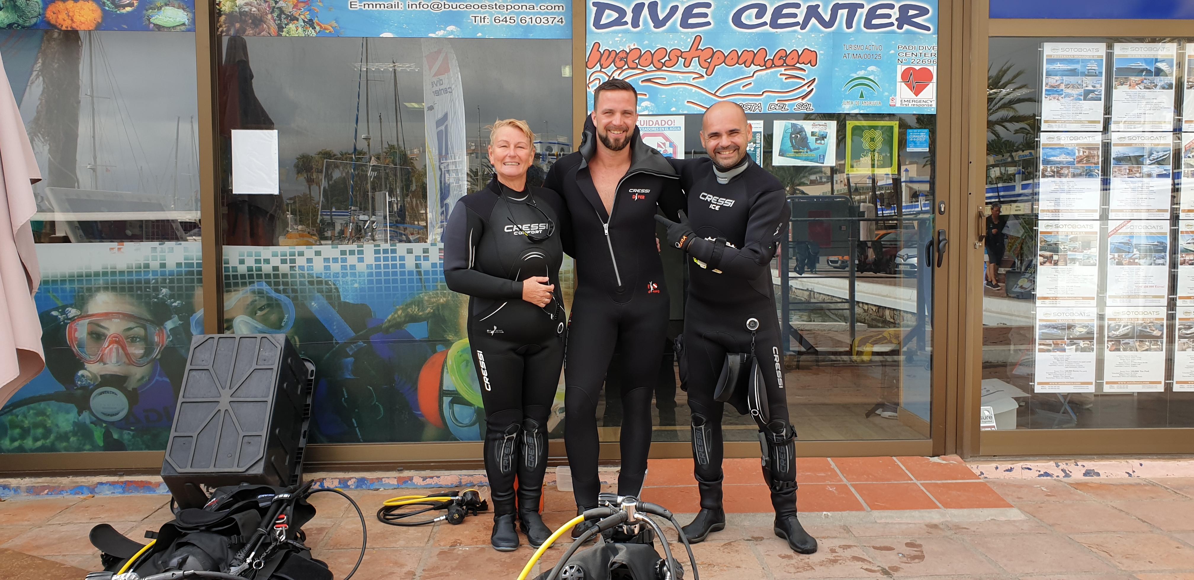 Buceador BuceoEstepona Diver plongeur